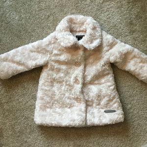 7e03241cc Kids  Calvin Klein Faux Fur Coat on Poshmark